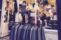 The Harlequin. One of the many vintage shops based in Dublin. Photo Credit: Author.