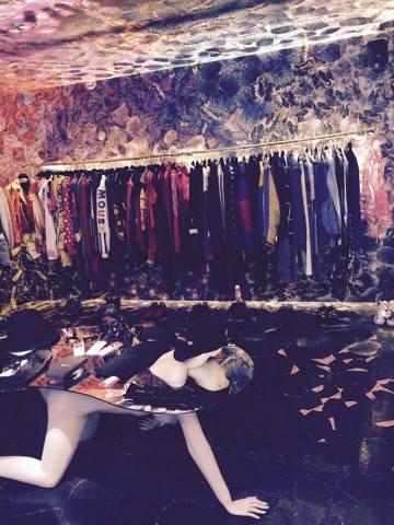Designer collection at Burggasse 24. Photo Credit: Author.