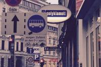 Street view Vienna. Photo Credit: Author.