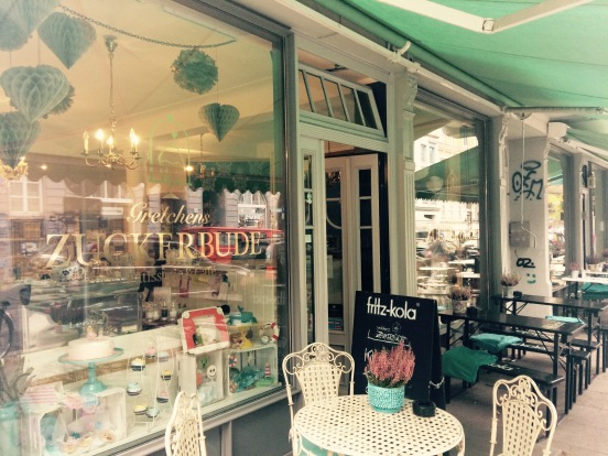 One of the many cute little vintage cafes Hamburg has to offer. Photo Credit: Author.