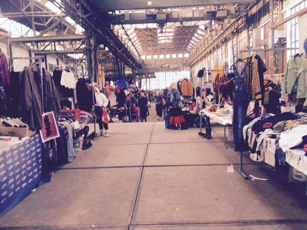 IJ-Hallen Vlooienmarkt Amsterdam. Photo Credit: Author.