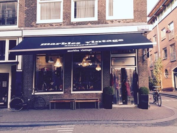 Marbles vintage & design Amsterdam. Photo Credit: Author.