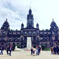 Vintage Guide to Scotland, Glasgow. Photo Credit: Author.