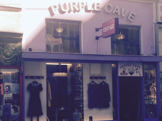 Purple Cave Vienna.