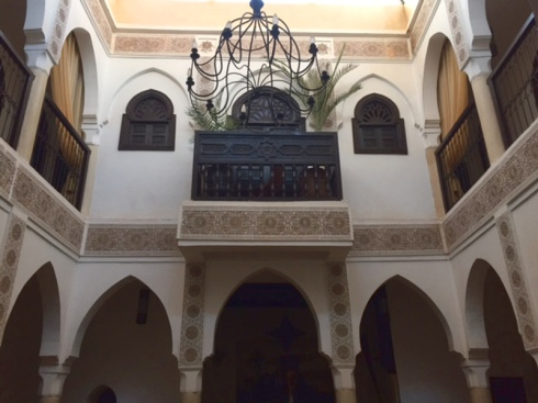 Riad Andalouse, Marrakesh. Photo Credit: Author.